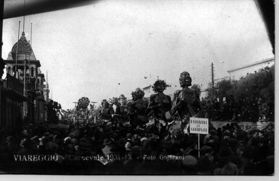 Centauri di Marcello Di Volo - Mascherate di Gruppo - Carnevale di Viareggio 1931