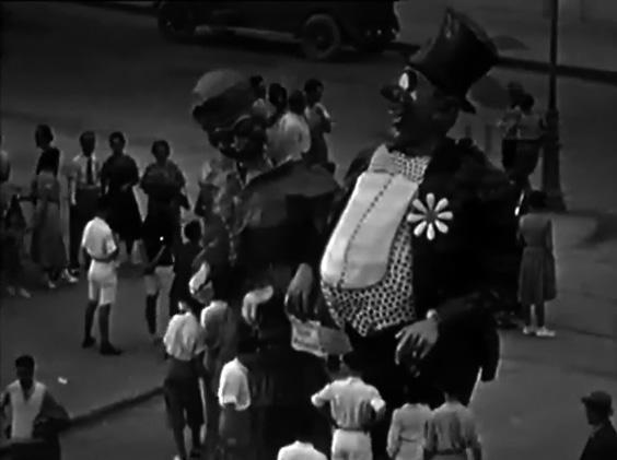 Il colmo di un antiquario di Carlo Cinquini - Maschere Isolate - Carnevale di Viareggio 1931