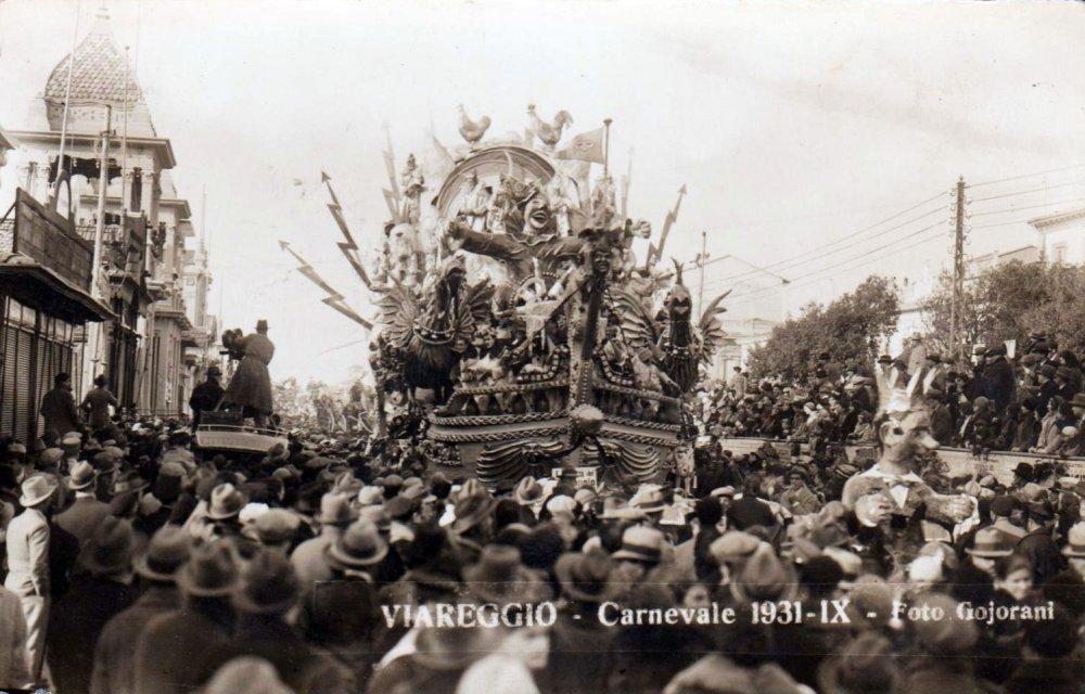L'arca del carnevale di Michele Pardini - Carri piccoli - Carnevale di Viareggio 1931