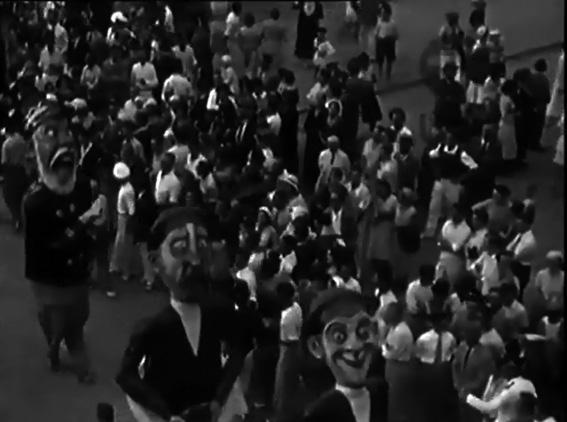 Marinai d acqua dolce di Gino Martinelli - Mascherate di Gruppo - Carnevale di Viareggio 1931
