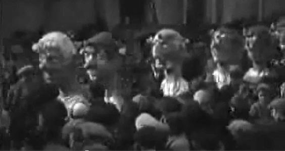 Nerone a spasso di Alfredo Morescalchi - Mascherate di Gruppo - Carnevale di Viareggio 1931