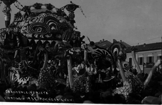 Carnevale variete di Guido Lippi - Carri grandi - Carnevale di Viareggio 1932