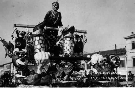 Giocattolo carnevalesco di Enrico Lubrano - Carri piccoli - Carnevale di Viareggio 1932