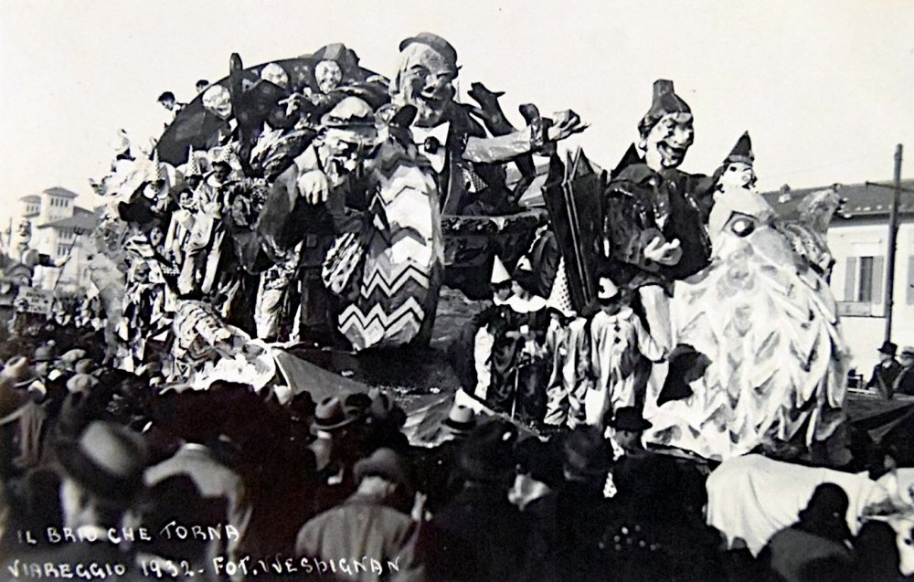 Il brio che torna di Guido Baroni e Giuseppe Francesconi - Carri piccoli - Carnevale di Viareggio 1932