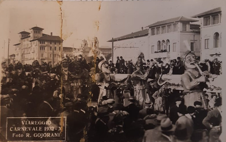 Incantatori di serpenti di Armando Ramacciotti - Mascherate di Gruppo - Carnevale di Viareggio 1932