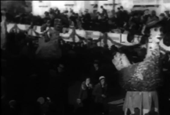 Inseguimento alle poulets di Guido Tomei - Mascherate di Gruppo - Carnevale di Viareggio 1932
