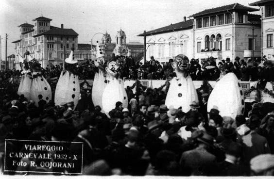 Nasce la vita allegra di Angelo Morescalchi - Mascherate di Gruppo - Carnevale di Viareggio 1932