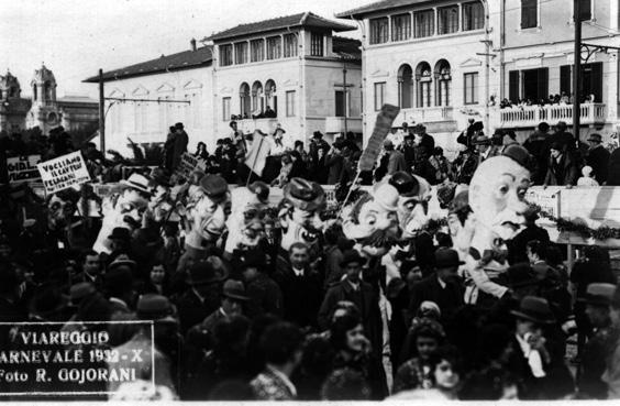 Propaganda elettorale di una volta di Alfredo Morescalchi - Mascherate di Gruppo - Carnevale di Viareggio 1932