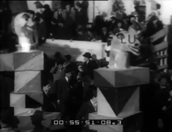 Scacco matto di Angelo Gori - Mascherate di Gruppo - Carnevale di Viareggio 1932