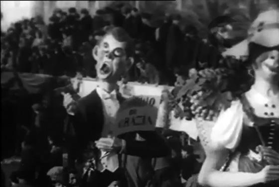 Tenorino di grazia di Gino Martinelli - Maschere Isolate - Carnevale di Viareggio 1932
