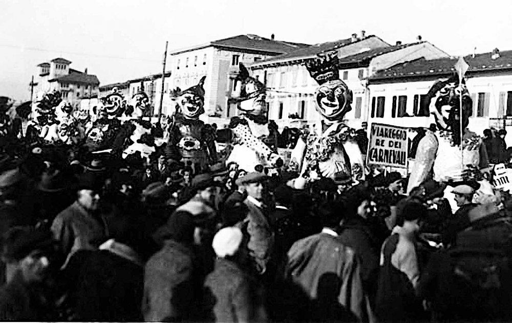 Viareggio Re dei carnevali di Danilo Di Prete - Mascherate di Gruppo - Carnevale di Viareggio 1932
