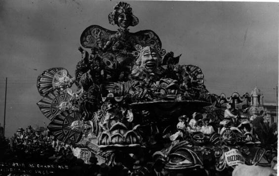 Bizzarria al carnevale di Michelangelo Marcucci - Carri grandi - Carnevale di Viareggio 1933