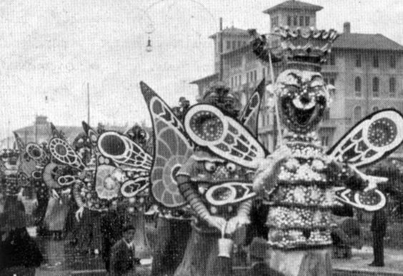 Carnevale in primavera di Danilo Di Prete - Mascherate di Gruppo - Carnevale di Viareggio 1933