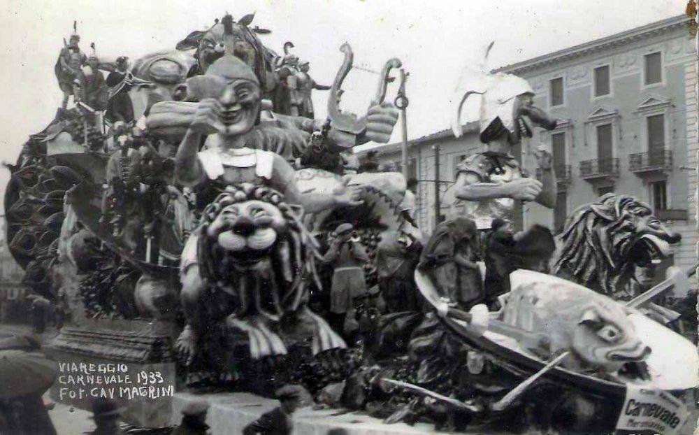 Carnevale neroniano di Guido Lippi - Carri grandi - Carnevale di Viareggio 1933