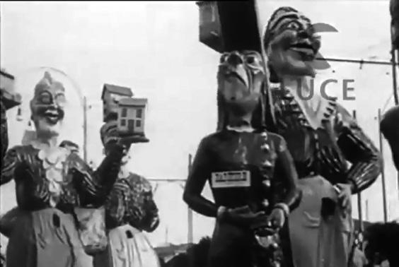 Le sensale di Carlo Bomberini - Mascherate di Gruppo - Carnevale di Viareggio 1933