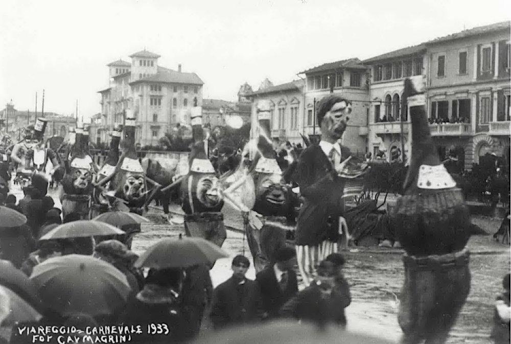 Questo e quello per me pari sono di Achille Del Pistoia - Mascherate di Gruppo - Carnevale di Viareggio 1933