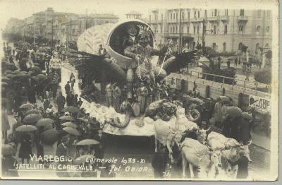 Salomone e la regina di Saba di Fabio Malfatti - Mascherate di Gruppo - Carnevale di Viareggio 1933