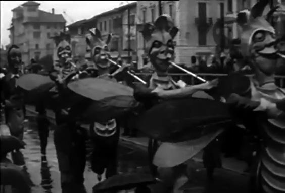 Sinfonia di grilli di Gino Martinelli - Mascherate di Gruppo - Carnevale di Viareggio 1933