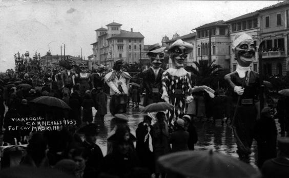 Tutto l anno al carnevale di Carlo Francesconi - Mascherate di Gruppo - Carnevale di Viareggio 1933