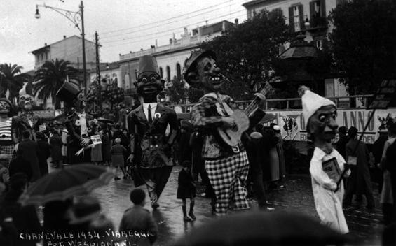 Chi vive di speranza di Armando Ramacciotti - Mascherate di Gruppo - Carnevale di Viareggio 1934