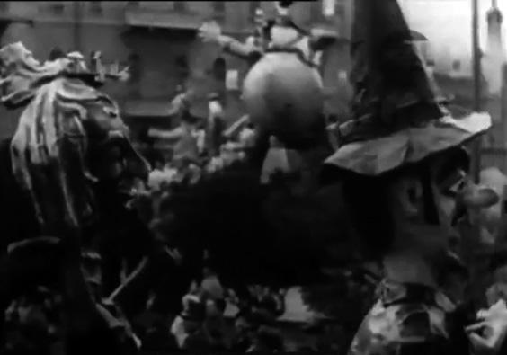 Gli incubi di un artista moderno di Angelo Gori - Mascherate di Gruppo - Carnevale di Viareggio 1934