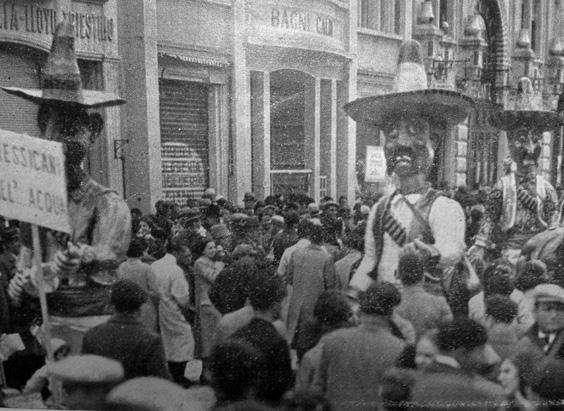 I mosconi dell acqua di Artebano Mazzoni - Mascherate di Gruppo - Carnevale di Viareggio 1934