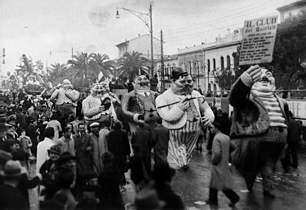 Il club del quintale di Alfredo Morescalchi - Mascherate di Gruppo - Carnevale di Viareggio 1934
