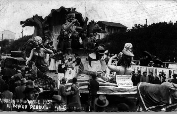 Il mare perduto di Dopolavoro Pisa - Altri Carri - Carnevale di Viareggio 1934