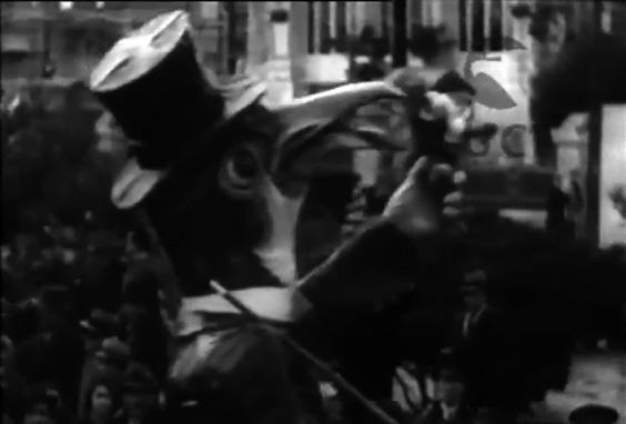 L oca e i pinguini di Raffaello Raffaelli - Mascherate di Gruppo - Carnevale di Viareggio 1934