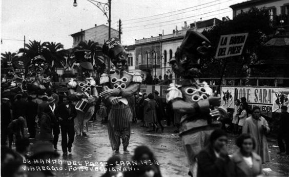 La banda del paese di Mario Cardosi - Mascherate di Gruppo - Carnevale di Viareggio 1934