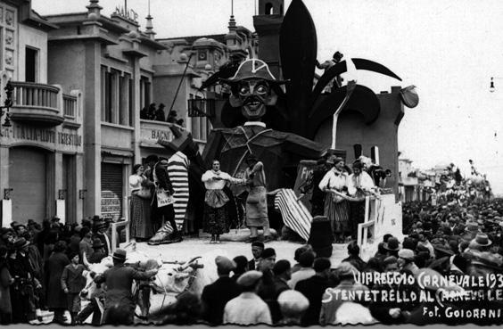 Stenterello di Dopolavoro Firenze - Altri Carri - Carnevale di Viareggio 1934