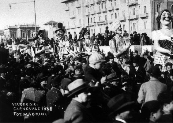 La fiera del libro di Gino Martinelli - Mascherate di Gruppo - Carnevale di Viareggio 1935