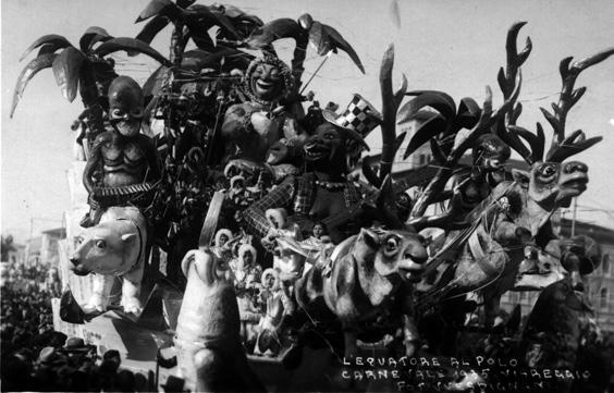 L'Equatore al Polo di Michele Pardini - Carri grandi - Carnevale di Viareggio 1935