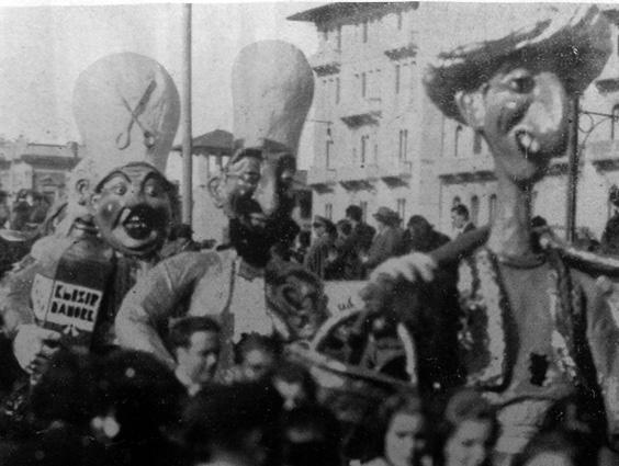 Merce d ogni paese di Artebano Mazzoni - Mascherate di Gruppo - Carnevale di Viareggio 1935