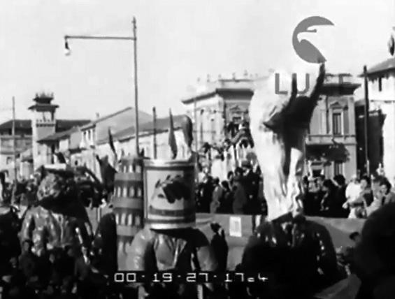 Premio letterario Viareggio di Lamberto Pitoni - Mascherate di Gruppo - Carnevale di Viareggio 1935