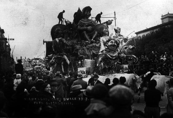 Dal Decamerone di Guido Lippi - Carri grandi - Carnevale di Viareggio 1937