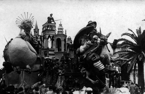 I promessi sposi di Michelangelo Marcucci - Carri grandi - Carnevale di Viareggio 1937