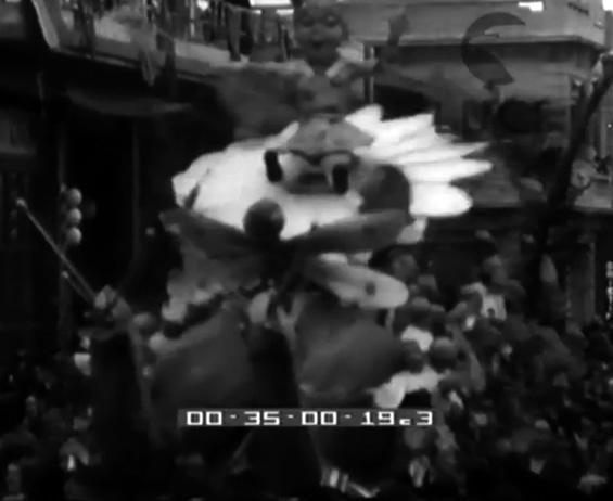 La vispa teresa di Alfredo Pardini - Altri Carri - Carnevale di Viareggio 1937
