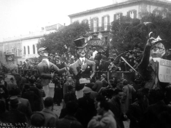 L'apertura di caccia di Carlo Bomberini - Mascherate di Gruppo - Carnevale di Viareggio 1937