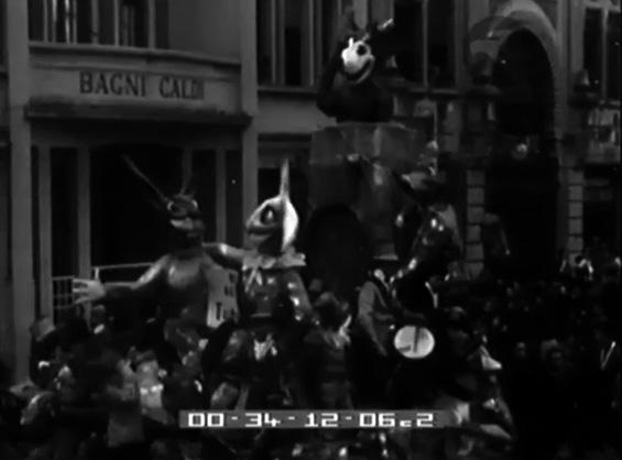 Nel regno di Topolino di Carlo e Francesco Francesconi - Altri Carri - Carnevale di Viareggio 1937