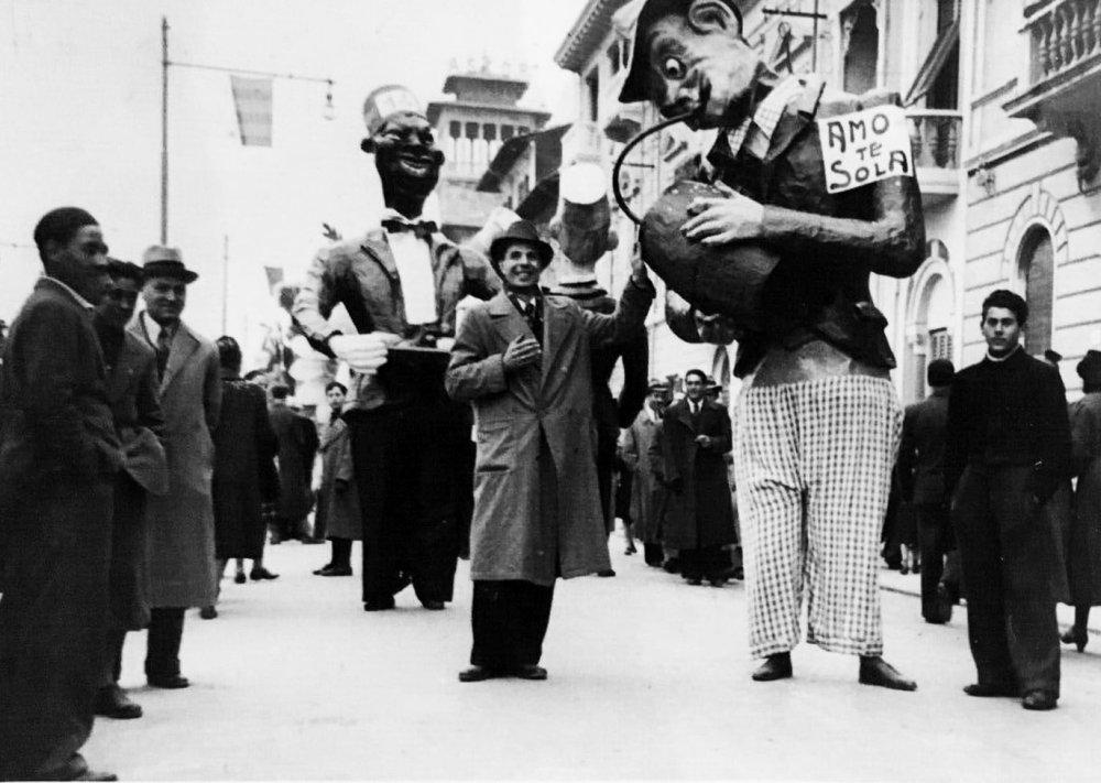 Amo te sola di Guido Giannoni - Maschere Isolate - Carnevale di Viareggio 1938