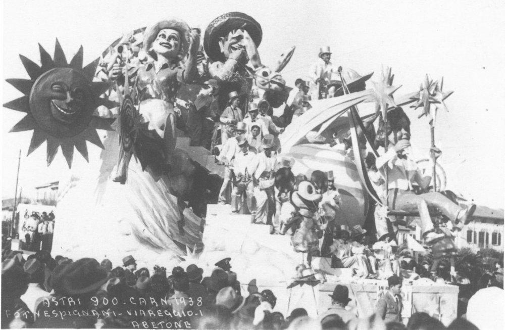 Astri novecento di Guido Lippi - Carri grandi - Carnevale di Viareggio 1938