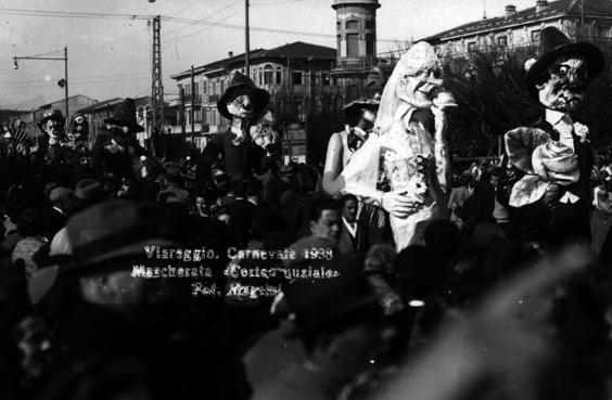 Corteo nunziale di Danilo Di Prete - Mascherate di Gruppo - Carnevale di Viareggio 1938
