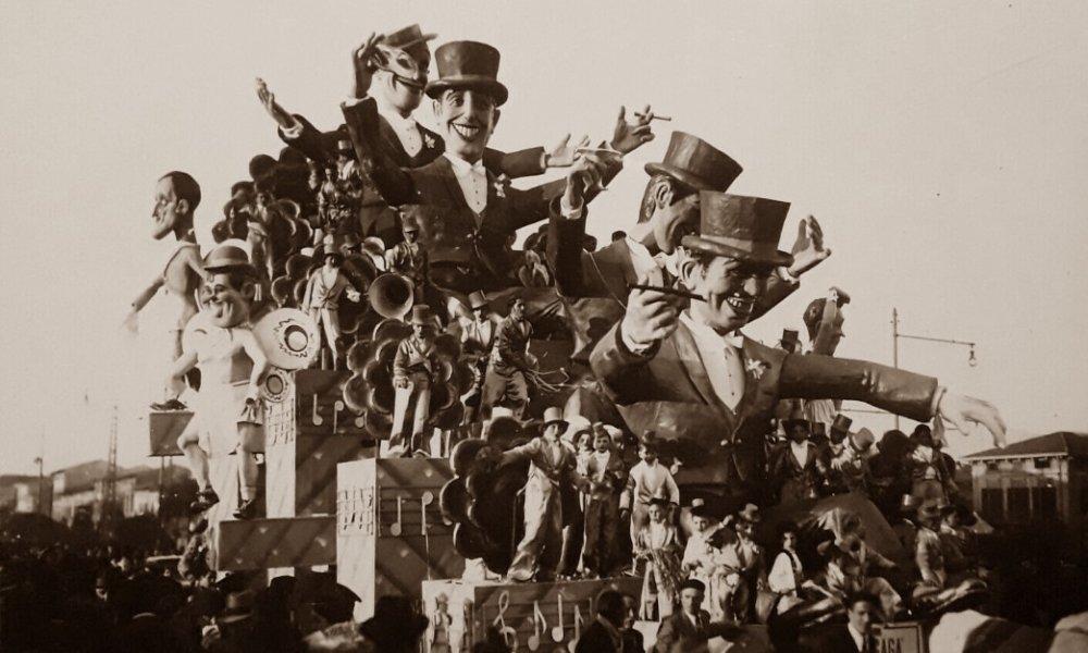 I gagà del cinema di Antonio D'Arliano - Carri grandi - Carnevale di Viareggio 1938