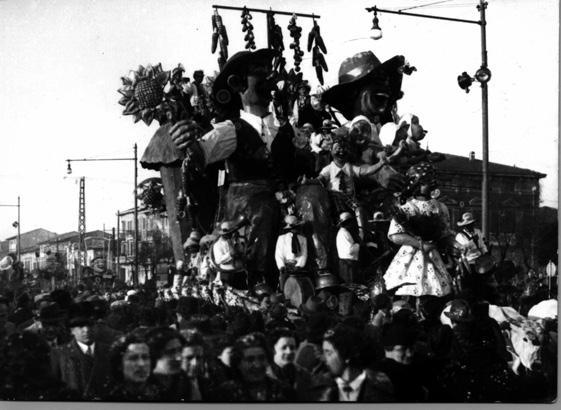 Il linguaggio dei fiori di Angelo Gori - Mascherate di Gruppo - Carnevale di Viareggio 1938