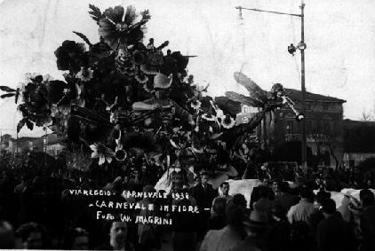 La protesta dei gatti di A. Antongiovanni - Mascherate di Gruppo - Carnevale di Viareggio 1938