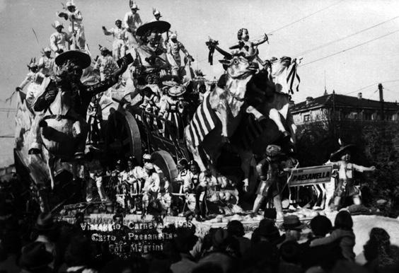 Paesanella di Michelangelo Marcucci - Carri grandi - Carnevale di Viareggio 1938