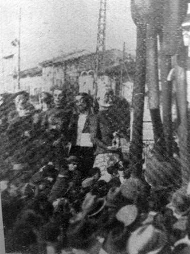 Pubblicità economiche di Ademaro Musetti - Mascherate di Gruppo - Carnevale di Viareggio 1938