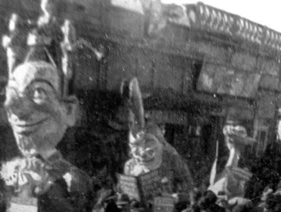 Sport umoristico di Augusto Pucci - Mascherate di Gruppo - Carnevale di Viareggio 1938