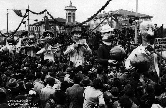 È arrivato un bastimento carico di co... di Alfredo Morescalchi - Mascherate di Gruppo - Carnevale di Viareggio 1939